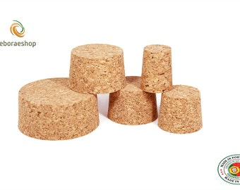 Tapered Cork Bung Bungs Stopper Bottle Jar carboy Cap home brew crafts arts