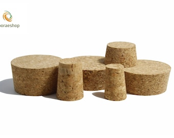 Tapered Cork Bung Bungs Stopper Bottle Jar carboy Cap home brew crafts arts many sizes