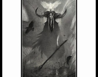 The Soul of War - A4 Fine Art Print - Signed and embossed - Fantasy Art