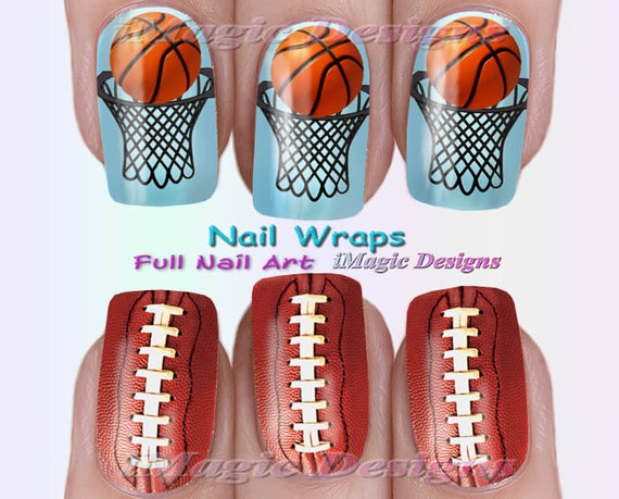 image 0 - Nail Wraps Waterslide Full Nail Art Decals Stickers Etsy