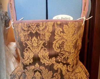 Custom Ladies Tudor/ Elizabethan Corset