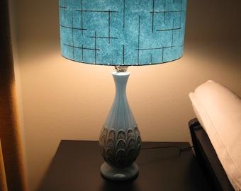Made to Order Mid Century Vintage Style Fiberglass Lamp Shade Custom Retro Atomic