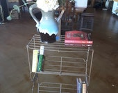 metal 4 shelf bookshelf plant stand mid century planter book shelf display bronze finish porch decor nightstand