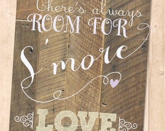 S'more Love Sign