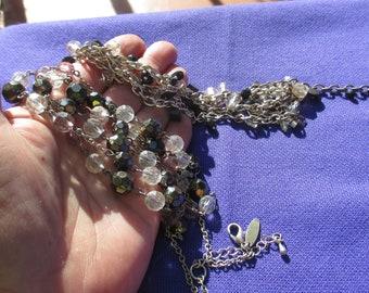 Lot Of Metal Beaded Stretch Bracelets Restring Repurpose Flaking Beads