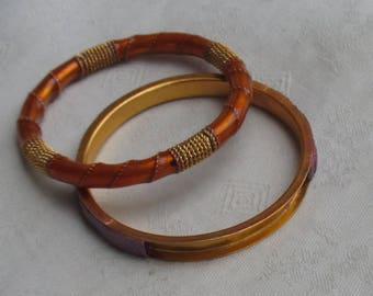 Lot Of Retro Child Size Bangle Bracelets TLC