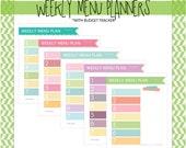 Simple Weekly Menu Planne...