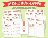 A5 Christmas Planner Bundle/Kit