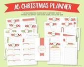 A5 Christmas Planner Bund...