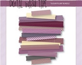 Digital Washi Tape - Sugar Plum - 15 Assorted Patterns & Sizes
