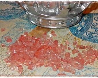 Cherry Blossom Pink - Cherry Quartz Chips