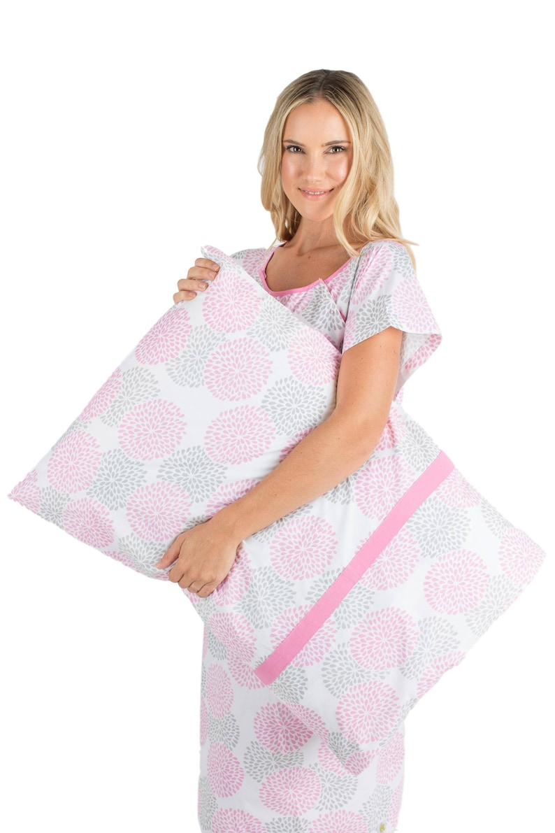 03a3f1c139 2 PC Set Lilly Maternity Labor Delivery Hospital Gown Gownie
