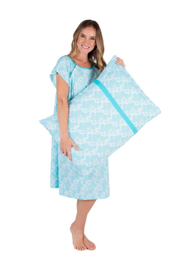 2 PC Set Celeste Maternity Labor Delivery Hospital Gown | Etsy
