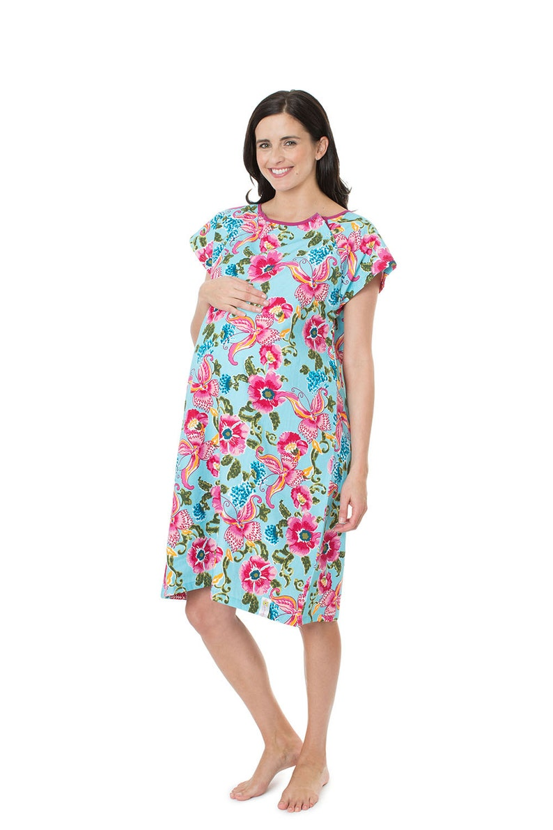 9b341572559 Isabelle Labor Delivery Maternity Hospital Gown Baby Be Mine