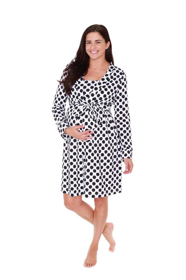 8e3d3ffb7b612 Celine Maternity Delivery Labor Nursing Robe-Hospital Bag Must | Etsy