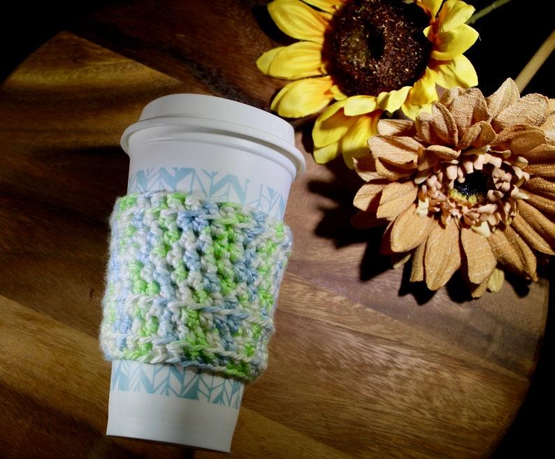 Crochet Pattern Easy Crochet Coffee Cozie Coffee Sleeve image 0