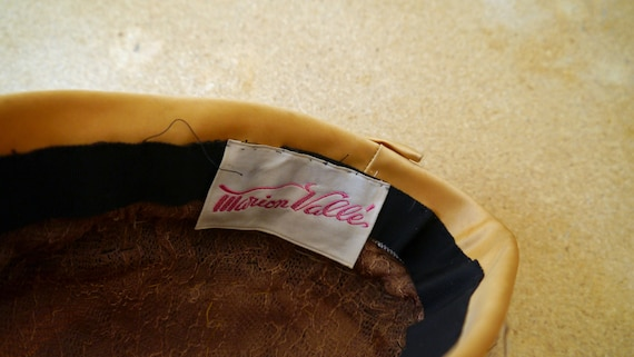 Gold Feather Turban Flapper Style Vintage Turban … - image 5
