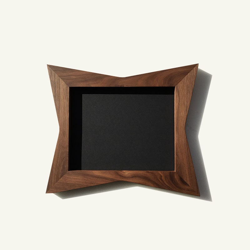 Mid Century Picture Frames 8 X 10 11 X 14 Danish Modern Etsy