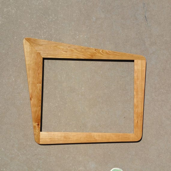 Mid Century Modern Picture Frame Mirror And Frame Ready To Etsy