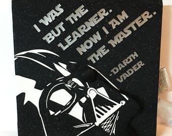 Darth Vader Graduation Cap Decal