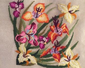 Bucilla Daylilies Extra Large Needlepoint Canvas
