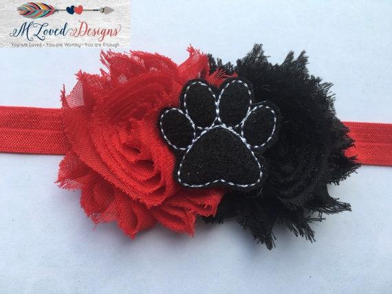 Paw headband/Tiger headband/Panther Headband/Lakeville Headband NRHEG Headband/Wittenberg Headband