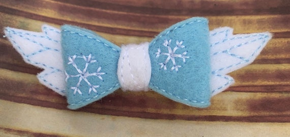Frozen Bow|Elsa Bow|Ice Princess Bow