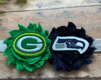 A house divided: Packers/Seahawks headband