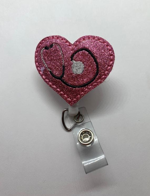 Ultrasound Badge Reel/Badge Clip OBGYN badge reel/OB Badge Reel/Nurse ID/Badge Holder