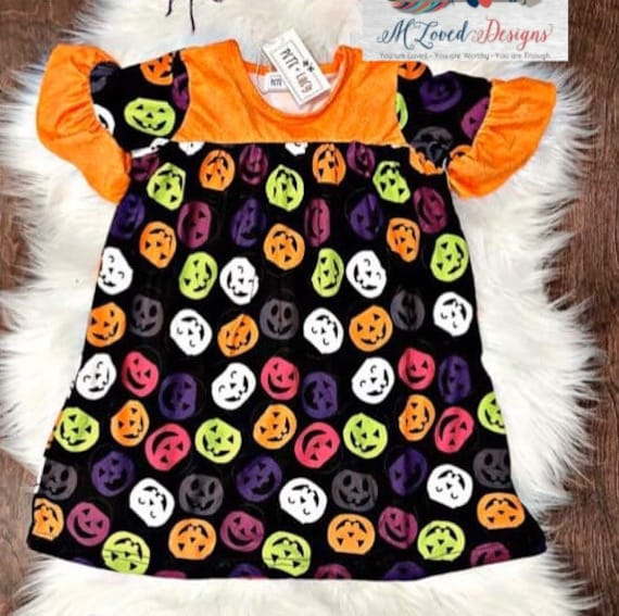 Pumpkin Pumpkin Halloween Dress