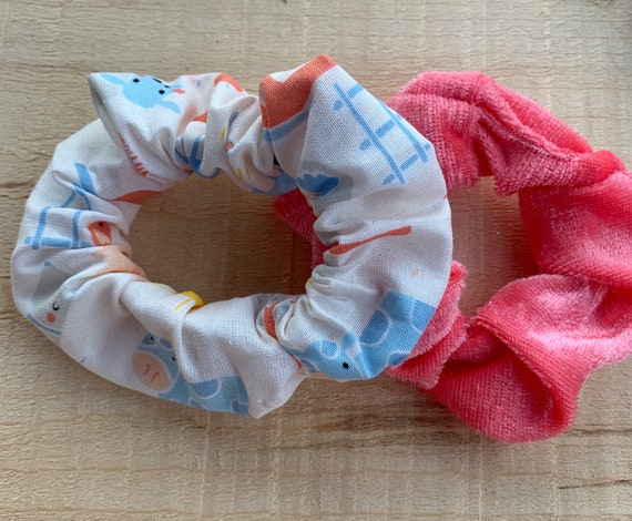Barnyard Friends Scrunchies|Velvet Scrunchie|Farm Scrunchie Pack