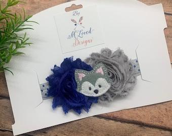 Huskies Headband/Huskies Baby Headband