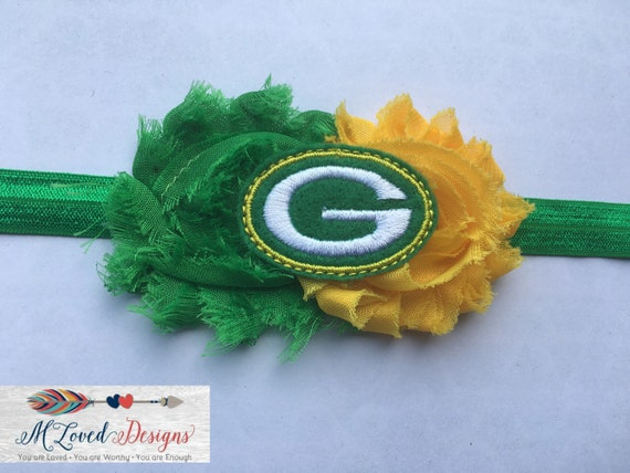 Green Bay Packers Headband/Packers Headband/GB Headband/Packers Baby Headband
