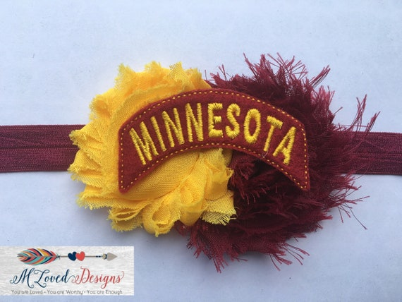 Minnesota Gophers Headband/Hair clip/Baby Headband/Toddler Headband/Girls Headband