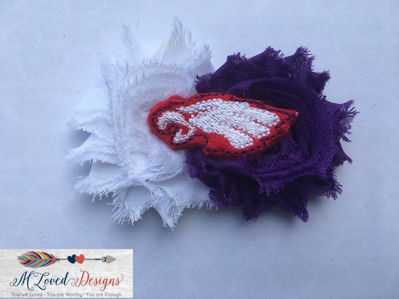 Wingers/Red Wing Wingers Headband/Baby Headband/Toddler image 0