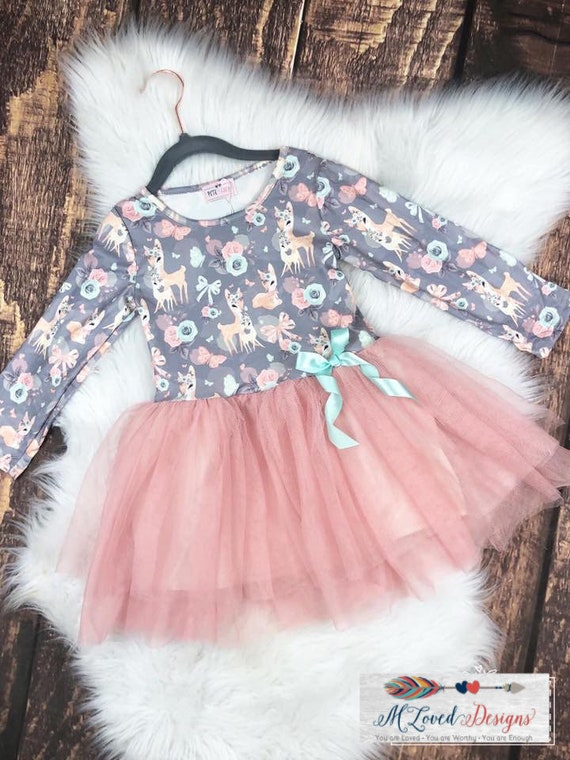 Sweet Deer Tulle Dress