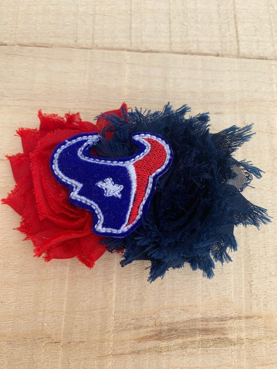 Houston Texans Hair clip|Texans Headband|Hair bow