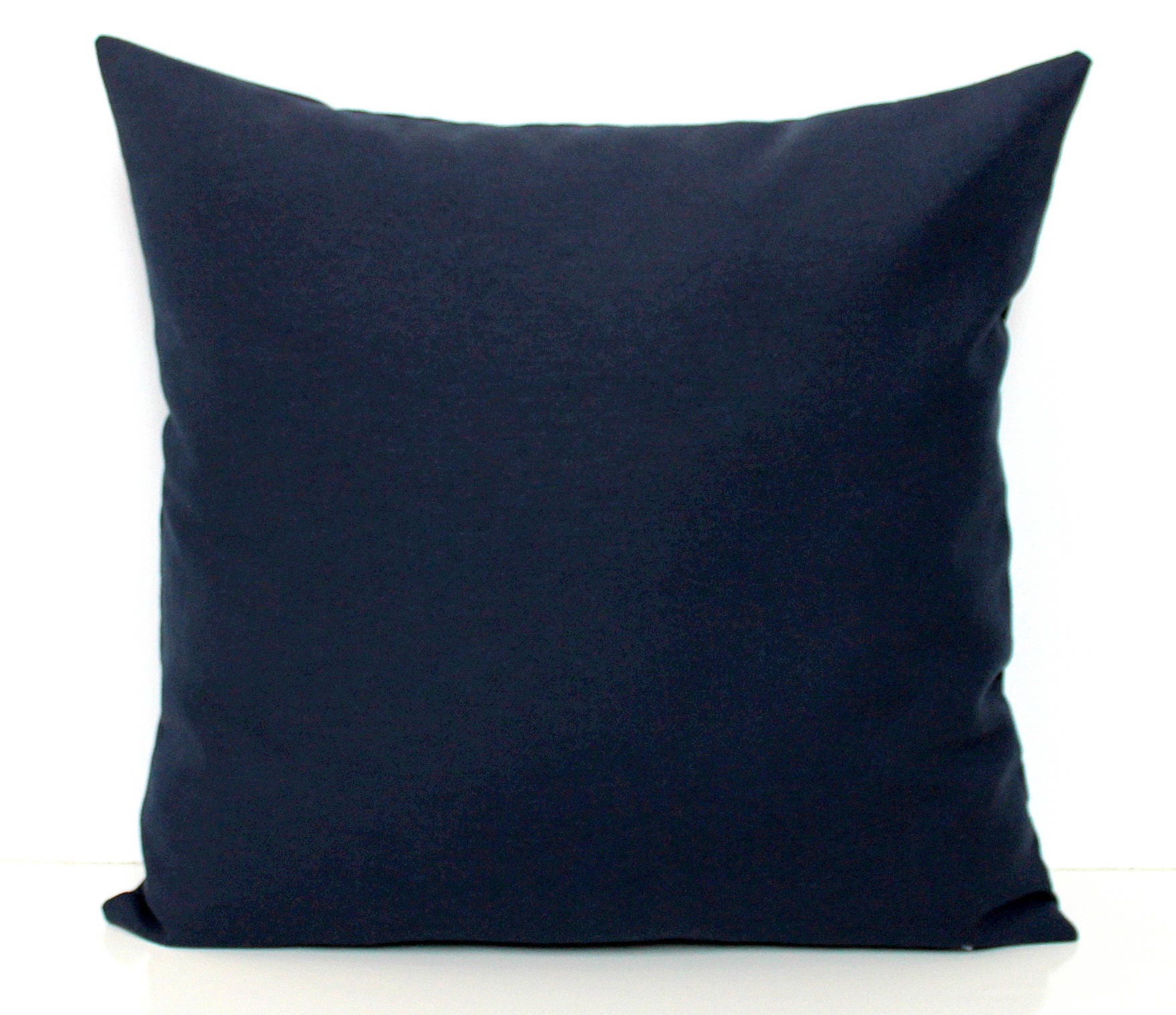 Navy Pillow Cover Dark Blue Cushion Cover Decorative