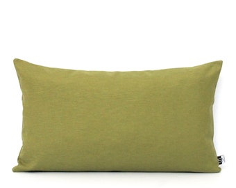 Dark Green Pillows - ANY SIZE - Leaf Green Pillow Cover Solid Green Cushion Cover - Moss Green Throw Pillows - Solid green Pillows 26x26