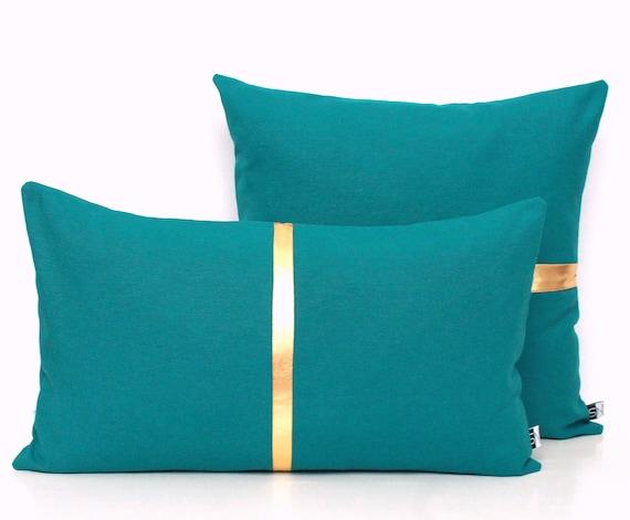 Dark Teal Pillow Cover Teal Throw Pillows Decorative Pillow Etsy Custom Dark Teal Decorative Pillows