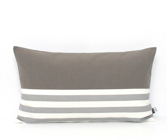 Two Tone Colorblock Pillow Cover