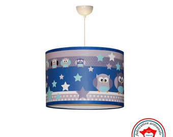 """Light Child Suspension """"The Owls See Life in Blue"""""""