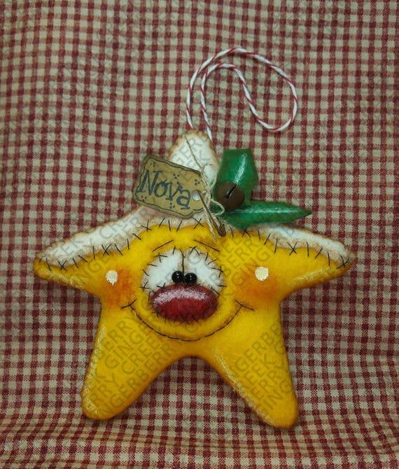 Helle Starlet Ornamentmuster 268 Primitive Puppe Muster | Etsy
