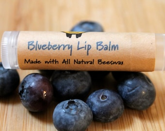 Blueberry Beeswax Lip Balm Tube