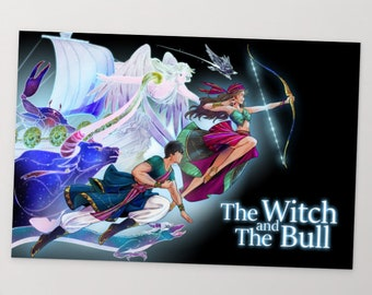The Witch and The Bull - Season 2 Return - Standard Postcard