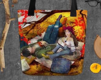 Fall of Thanks - Tote bag