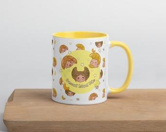 Crescent Island Folks Mug with Color Inside