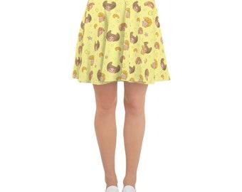 Crescent Island Folks Skater Skirt