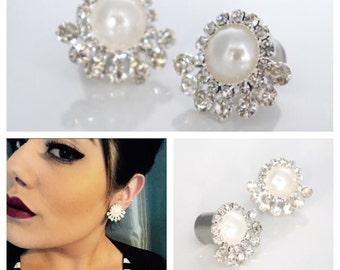 "Pearl Ear Plugs 0g 00g 7/16"" 1/2"" 9/16"" Wedding Gauges 8mm 00mm 12mm 14mm"
