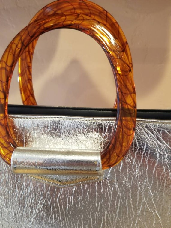 JR (Julius Resnick) Florida, USA Silver Foil Bag … - image 3
